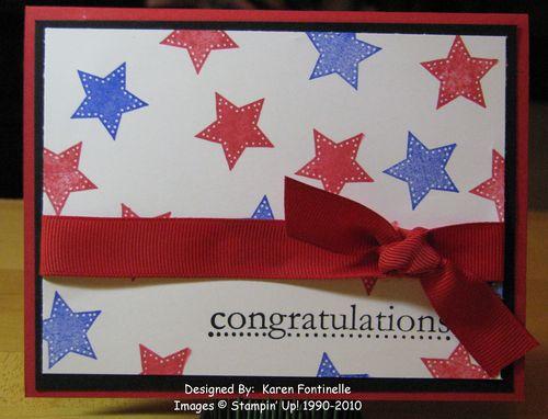 Star Card Congratulations