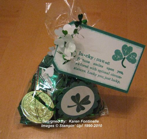 St. Patrick's Day Treat Bag