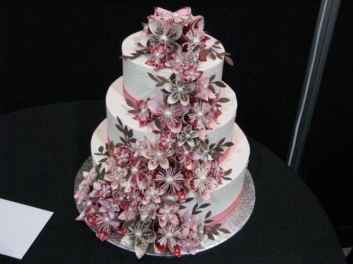 Paper Wedding Cake