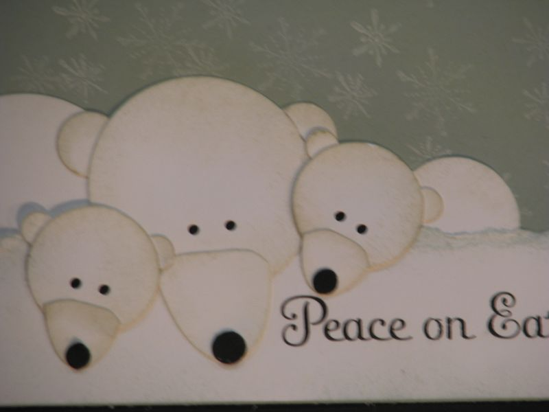 Stampin' Up! Punch Art Polar Bears