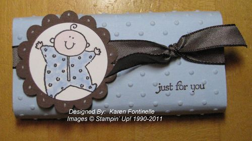 Baby Shower Favor Candy Bar