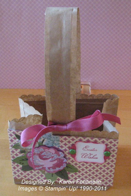 Paper Bag Basket Easter