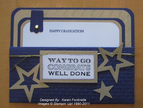 Graduation Pocket Card