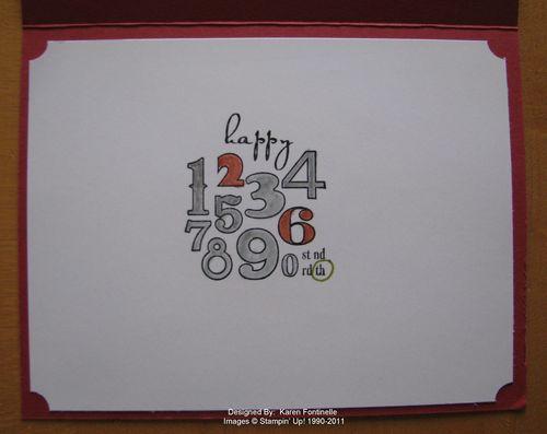 Male Birthday Card Inside
