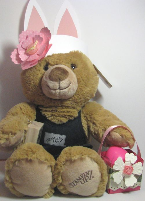 Stampin' Up! Easter Teddy Bear