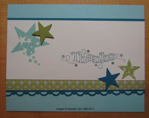 Sprinkled Expressions Swap Card