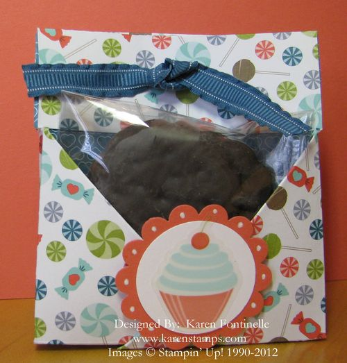Teabag and Cookie Holder