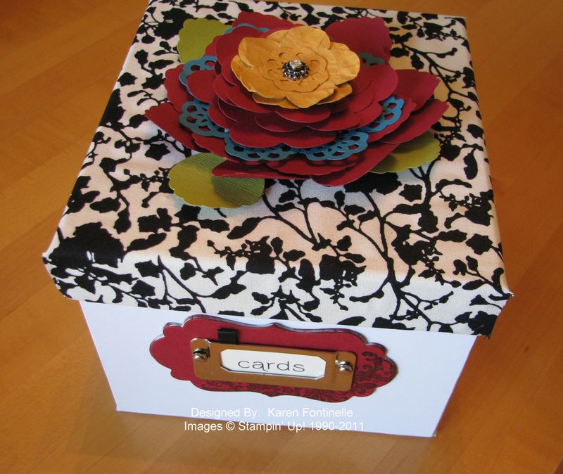 Card Box Front