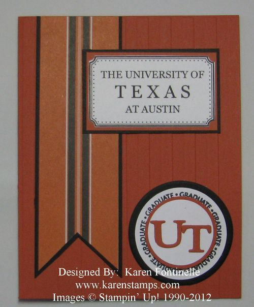 UT Graduation Announcement