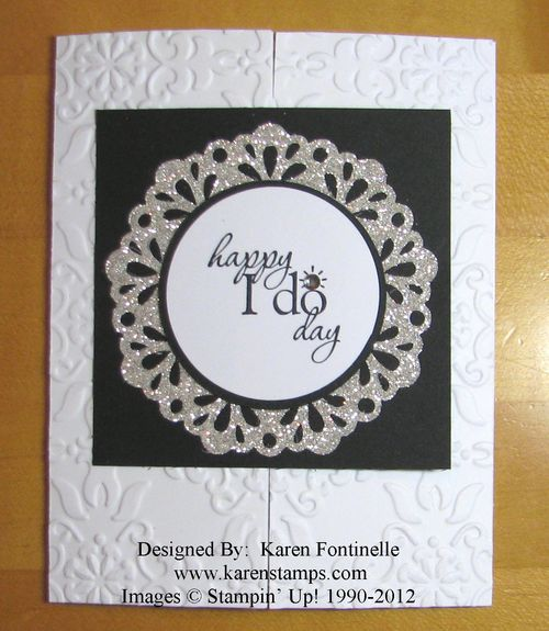 Wedding Gate Fold Card