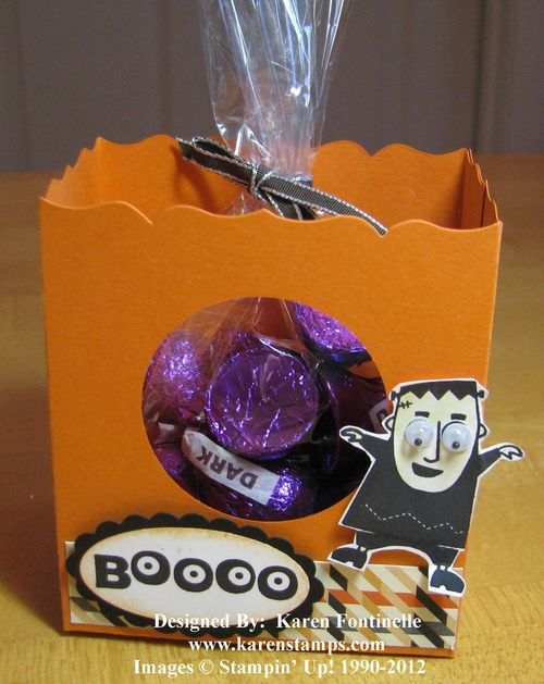 Halloween Fancy Favor Gift Bag
