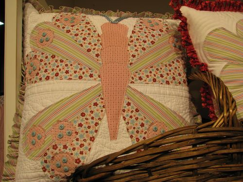 Quilted Pillow using Dresden Die