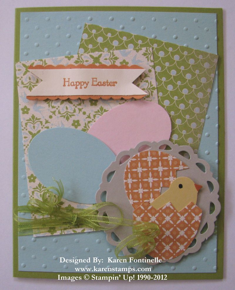 Stampin' Up! Sale-A-Bration Easter Card