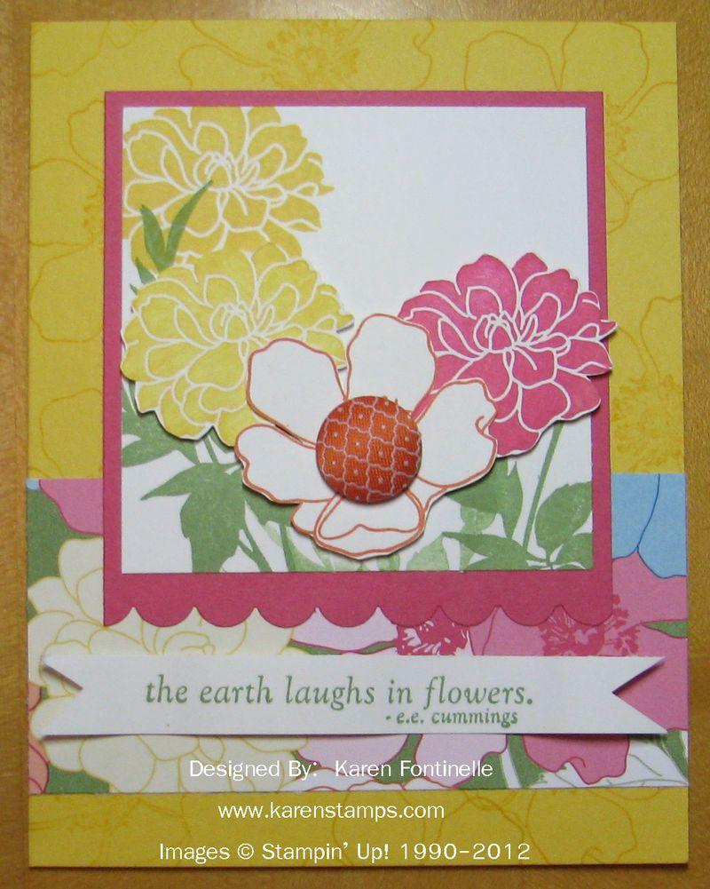 Fabulous Florets Springtime Card
