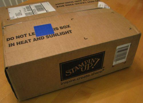 Stampin' Up! Box