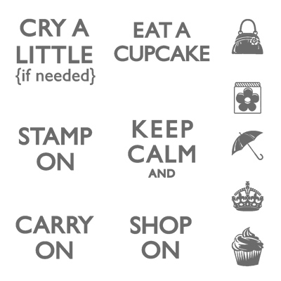 Carry On Hostess Stamp Set