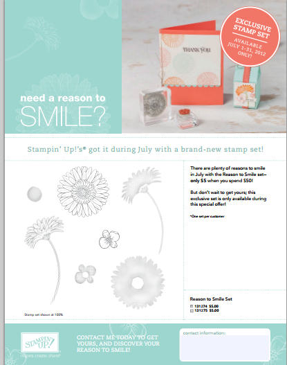 Reason to Smile Promo Flyer