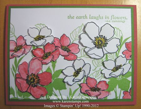 Fabulous Florets Flower Card