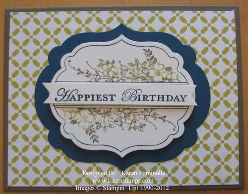 Apothecary Art Birthday Card