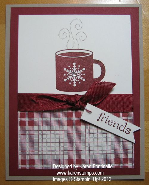 Scentsational Season Mug Friend Card