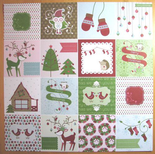 Snow Festival Designer Series Paper Squares