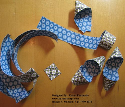 Paper Bow Strips
