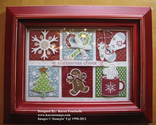 Christmas Collage Frame