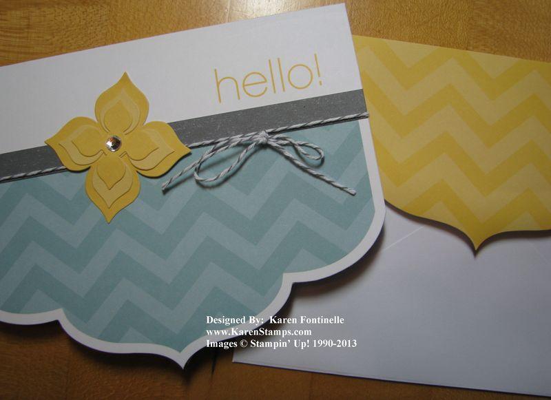 Sale-A-Bration Simply Sent Card Kit