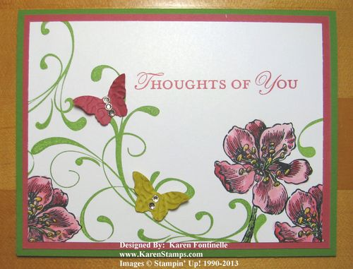 Everything Eleanor Azalea and Butterfly Card