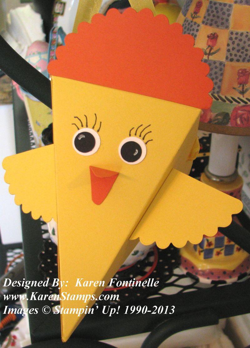 Petal Cone Die Easter Chick