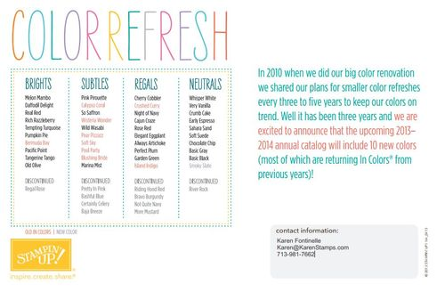 Color Refresh Flyer