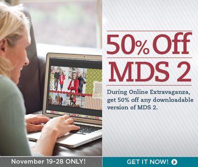 MDS Online Extrav 50% off