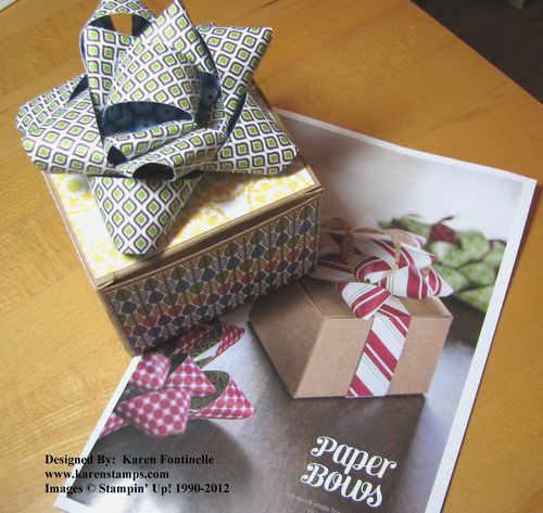 Paper Bow Gift Box