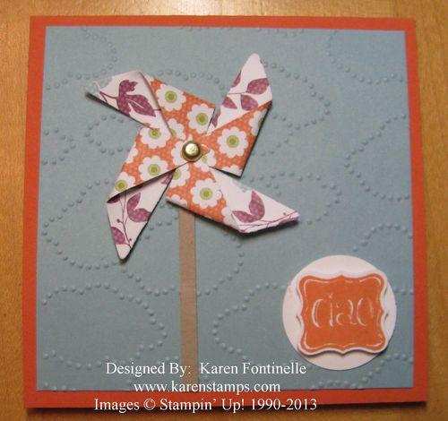 Easy Pinwheel Card