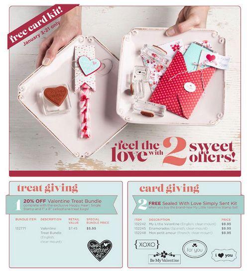 Valentine Specials Jan 2013