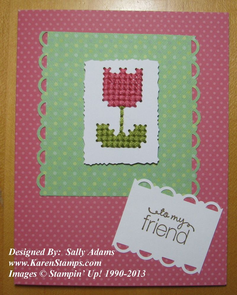Sweet Threads Simply Sent Card