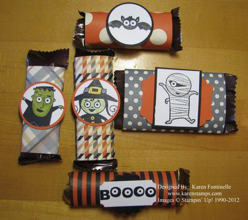 Trick-or-Treat Halloween Candy Bars
