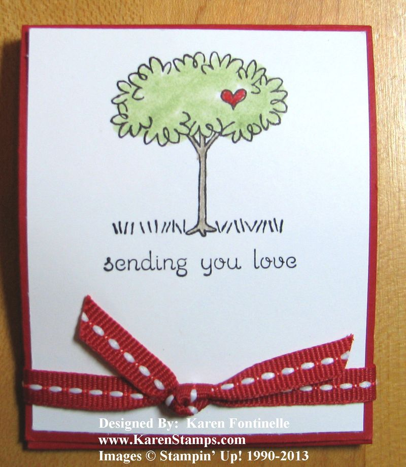 Valentine Candy Treat  Matchbook