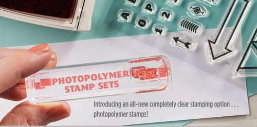Photopolymer Stamp Banner