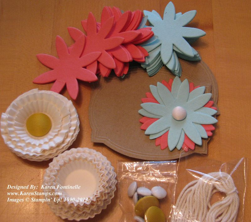 Pop-Up Posies Designer Kit Pieces