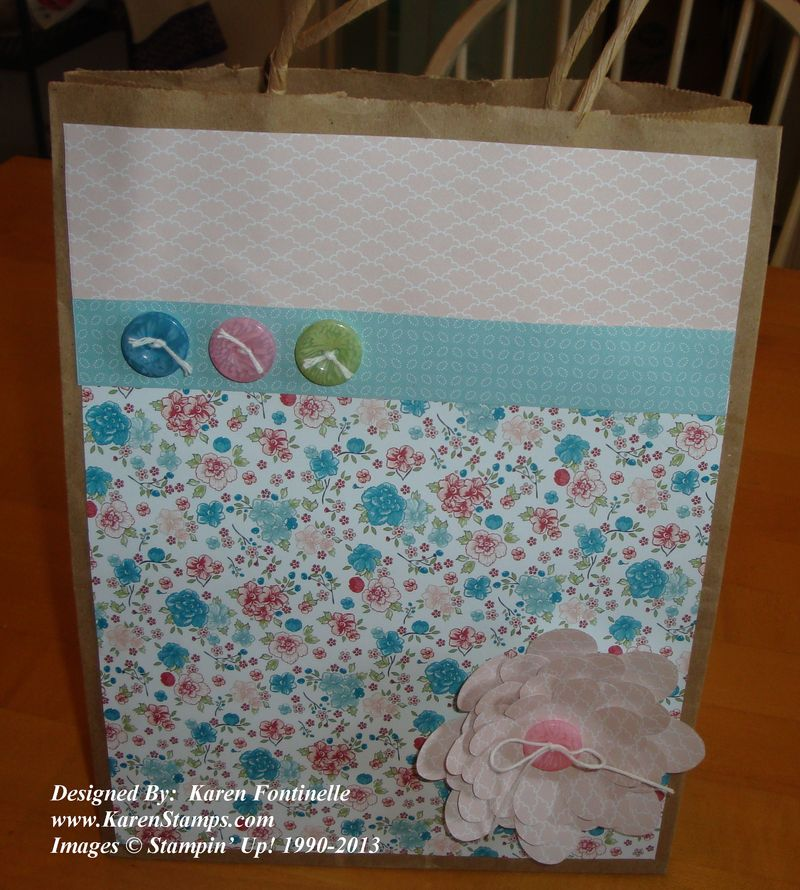 Mother's Day Twitterpated Paper Gift Bag